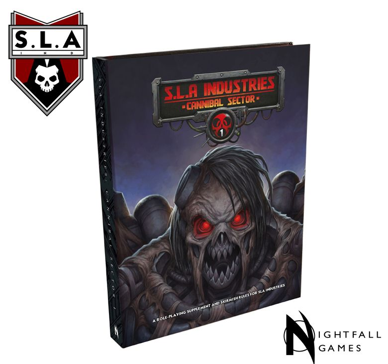 SLA Industries: Cannibal Sector One Expansion Book -  Word Forge