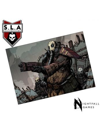 Limited Edition: A3 Scav Art Print