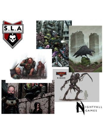 Limited Edition: A4 SLA Industries Art Set