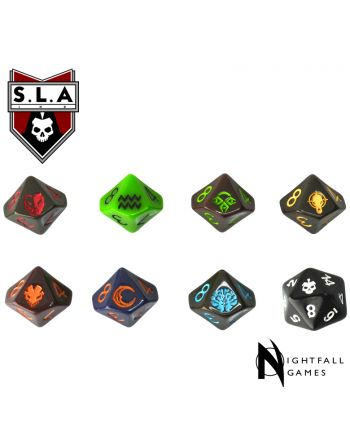 SLA Dice Pack - 1 of Each