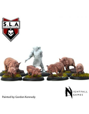Cannibal Wrangler & Pigs Expansion Pack