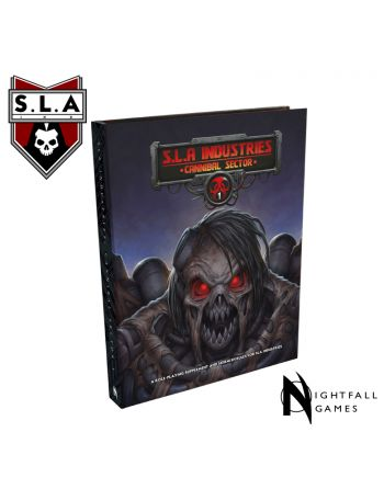 SLA Industries: Cannibal Sector 1 Book