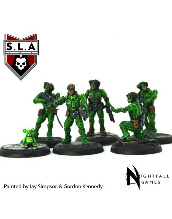 Shiver/9th Division Starter Set