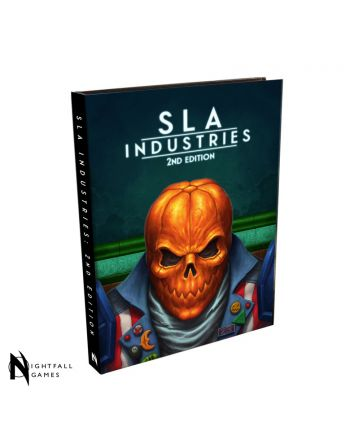 SLA Industries RPG 2nd Edition Core Rulebook