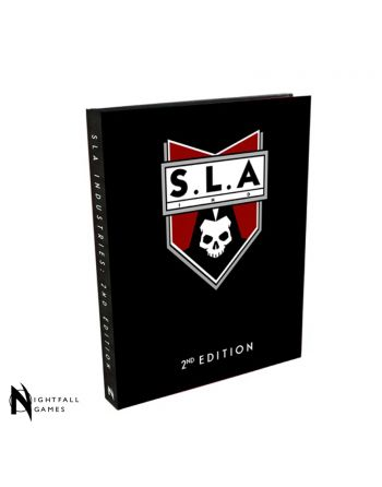 SLA Industries RPG 2nd Edition Core Rulebook - Retail Special Edition