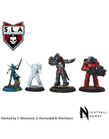 SLA Operative Expansion Pack (Non-Humans)