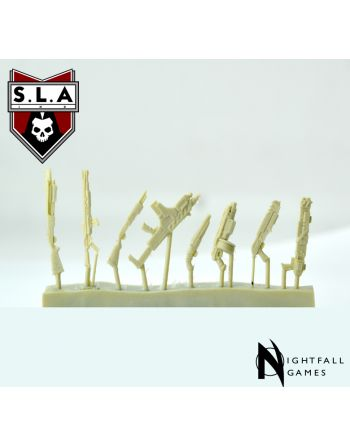 SLA Industries Weapons Sprue